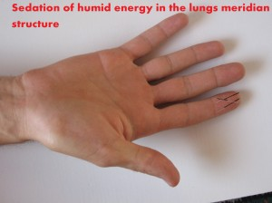 humidity sedation in lungs